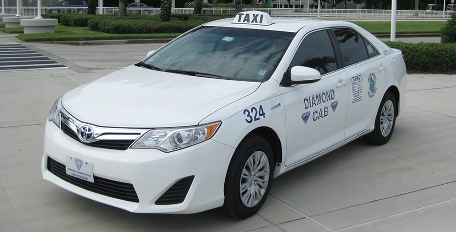 Diamond Hybrid Taxi Sedan