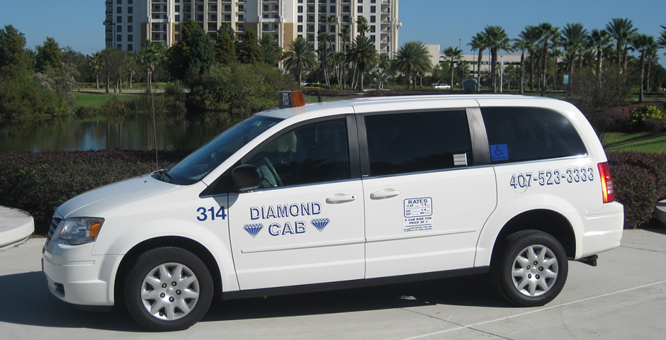 Diamond Taxi – Wheelchair Accessible