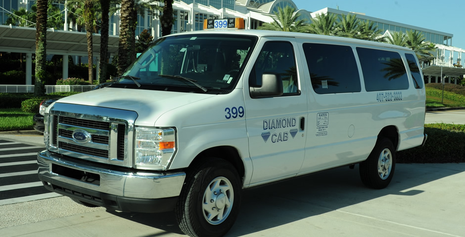 Diamond Taxi Van